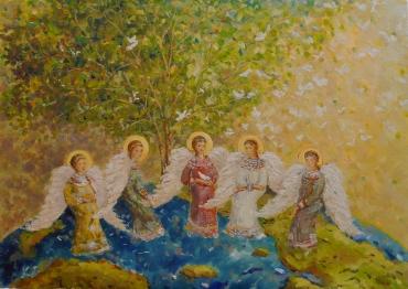 Ангелы на земле