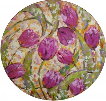 Тюльпаны в кругу